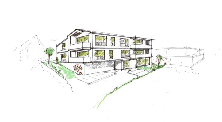 Neubau eines Mehrfamilienhauses mit 13 Wohneinheiten | Architektur Osnabrück