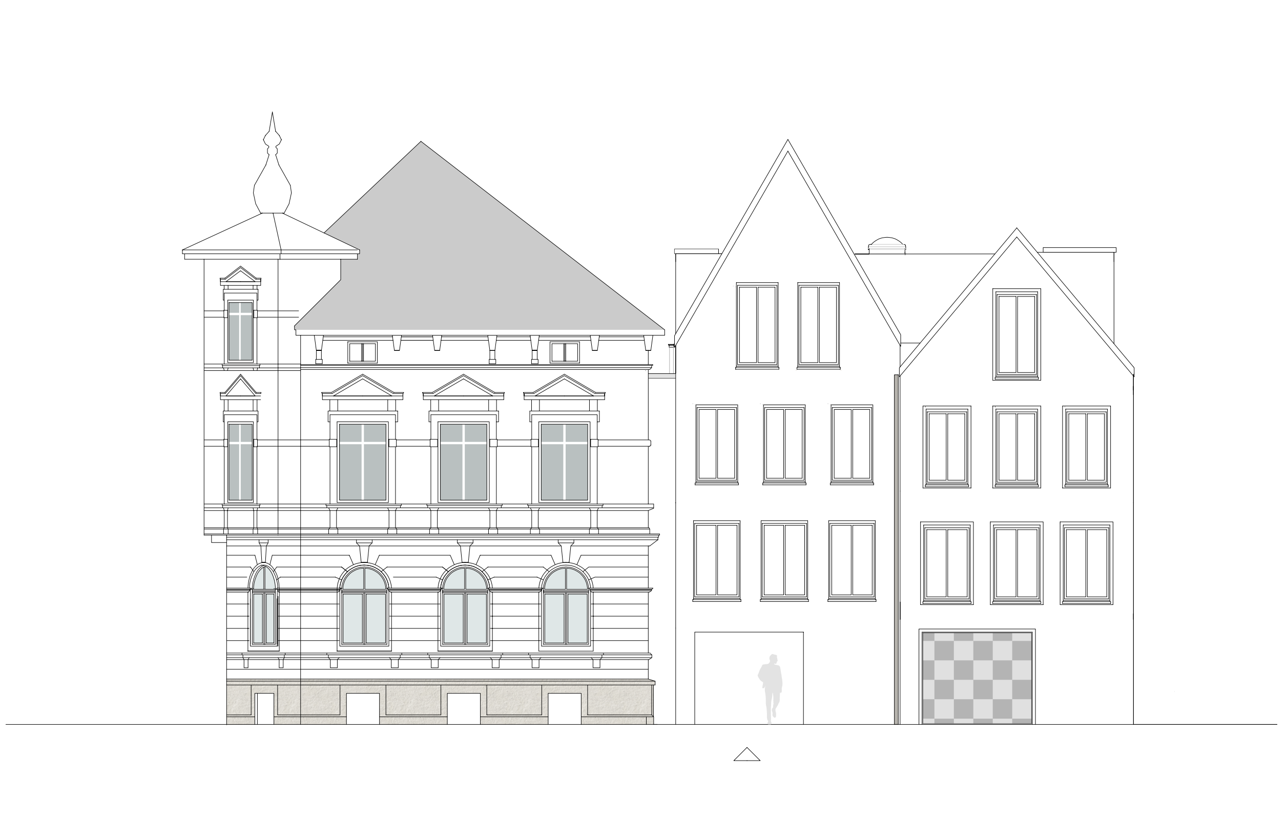 Sanierung eines denkmalgeschützten Gebäudes in der Martinistrasse | Architektur Osnabrück