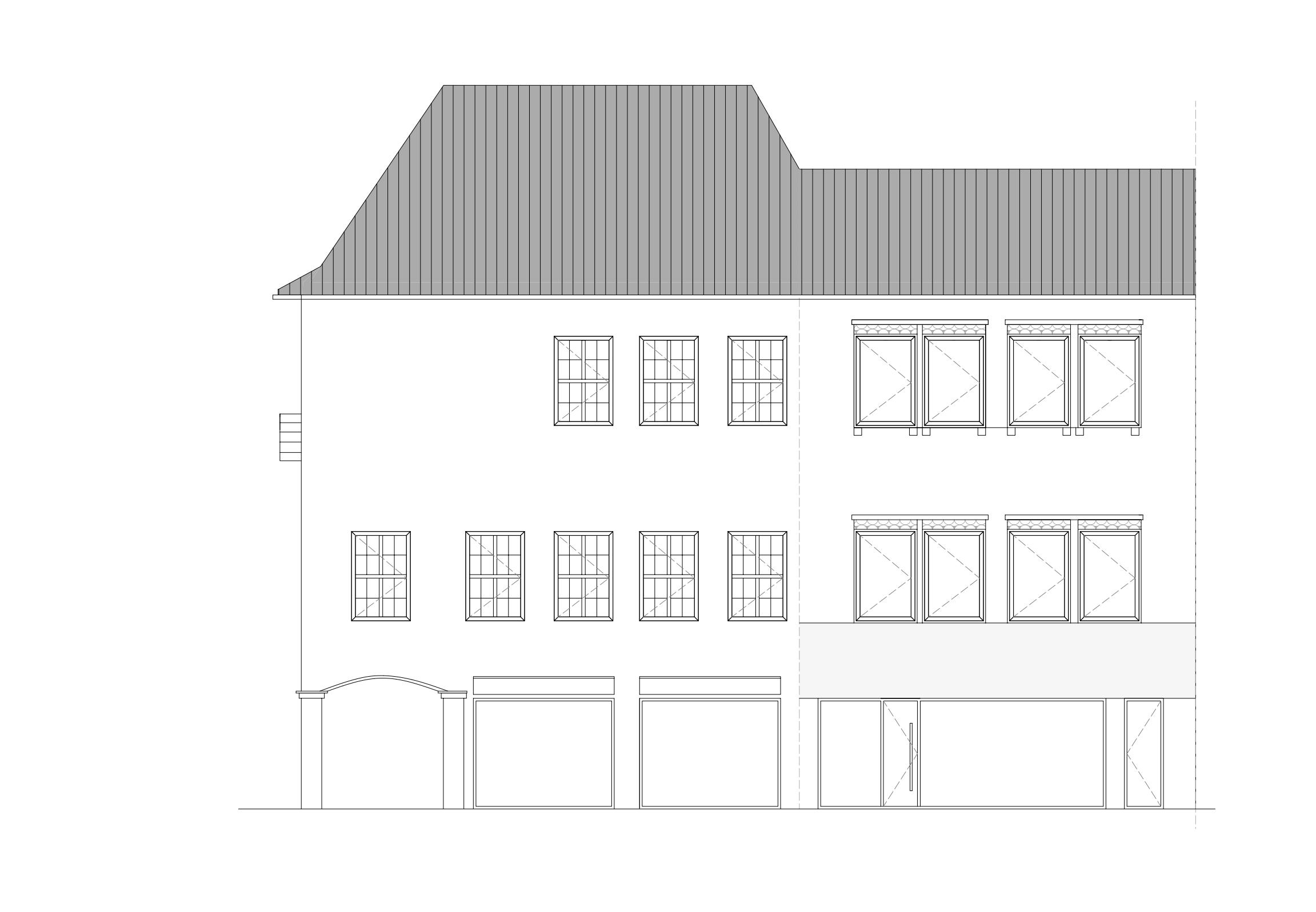 Umbau und Umnutzung einer Büro- und Gewerbeeinheit | Architektur Osnabrück