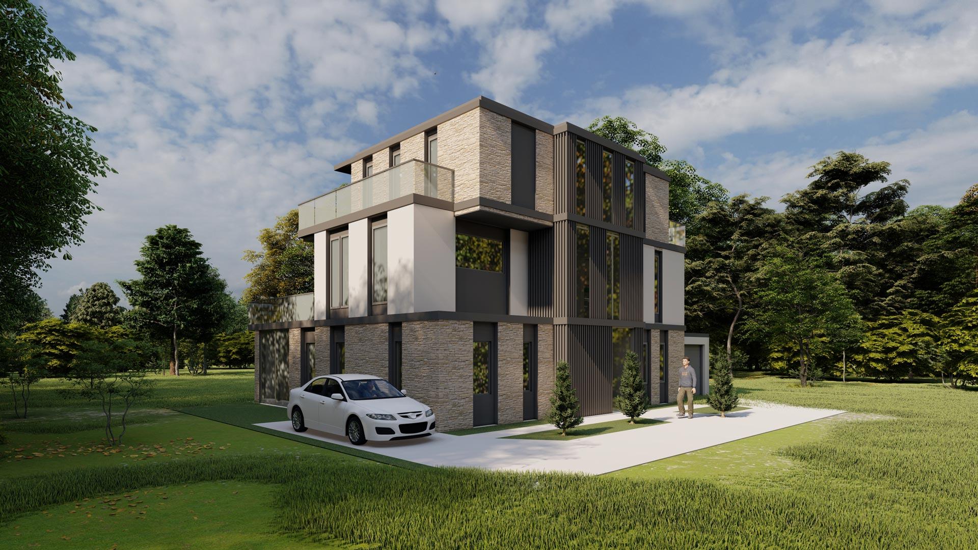 Neubau eines Wohnhauses in Osnabrück