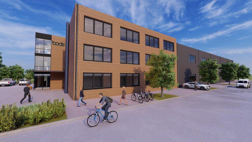 HOLZBAU! Neubau einer Gewerbehalle mit Büro l Stemwede